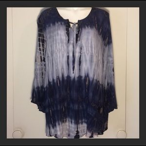 🦋Established XL Tunic Tie-Dyed Top🦋